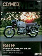 Clymer Repair Manual for BMW R50/5, R60/5 1970-73; R60/6 1973-76; R60/7 1976-78