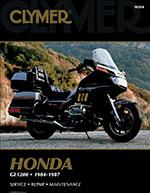 Clymer Repair Manual Honda Gold Wing GL1200 1984; Aspencade/Interstate 1984-87