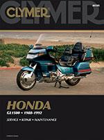 Clymer Repair Manual for Honda Gold Wing GL1500, SE, Aspencade, Interstate