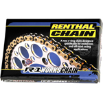 RENTHAL 428 R1 MX Works Series Non-Sealed Chain (Gold) 130 Links