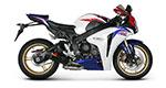 AKRAPOVIC Slip-On Exhaust System (Carbon) Honda CBR1000RR (2008-2013)