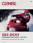 Clymer Repair Manual for Ski-Doo Formula Series Snowmobile S829