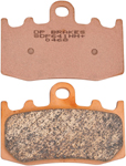 DP Brakes SDP SPORT HH+ High Friction Front Brake Pads (SDP641HH)