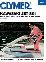 Clymer Repair Manual for 1976-1991 Kawasaki Jet Ski