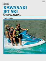 Clymer Repair Manual for 1992-1994 Kawasaki Jet Ski