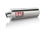 YOSHIMURA RS-3 Street Series Slip-On Exhaust System (Stainless Muffler w/ Aluminum End Cap) 2000-2016 Suzuki DR-Z400S/SM