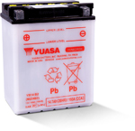 Yuasa Yumicron High Performance Conventional Battery (YB14-B2) YUAM224B2