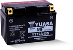 Yuasa Fresh Pack Maintenance-Free AGM Battery (YT12A-BS) YUAM32ABS