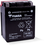 Yuasa Fresh Pack High Performance Maintenance-Free AGM Battery (YTX14AHL-BS) YUAM62H4L