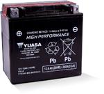 Yuasa Fresh Pack High Performance Maintenance-Free AGM Battery (YTX14H-BS) YUAM6RH4H