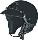 Z1R DRIFTER Motorcycle Half Helmet (Black)