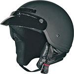Z1R DRIFTER Motorcycle Half Helmet (Flat Black)