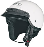 Z1R DRIFTER Motorcycle Half Helmet (White)