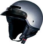 Z1R DRIFTER Motorcycle Half Helmet (Silver)