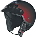 Z1R DRIFTER Motorcycle Half Helmet (Red)