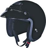 Z1R JIMMY Open-Face Motorcycle Helmet (Black)